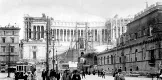 Construction du Vittoriano