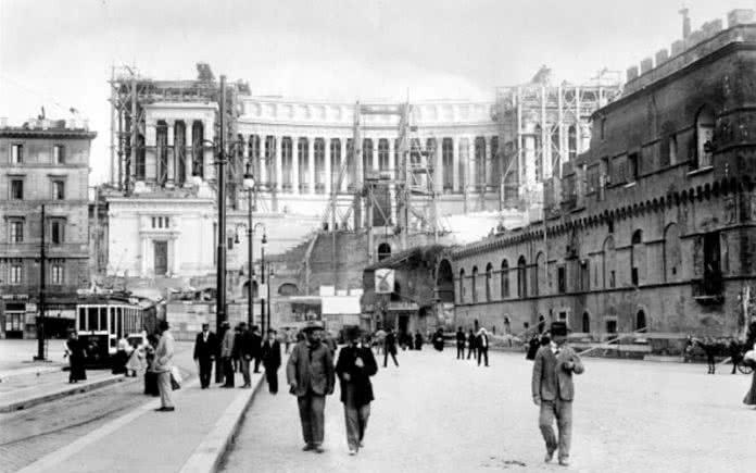 Construction du Vittoriano