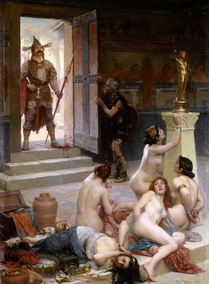 Brennus et le pillage de Rome