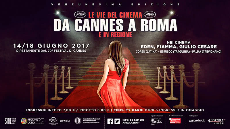 Da Cannes a Roma 2017
