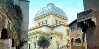 Grande Synagogue Ghetto Rome