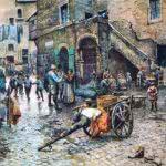 Ilustration Ghetto Rome 1886