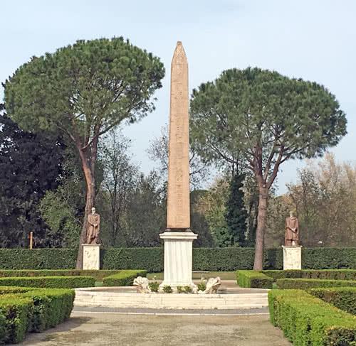 Obélisque Villa Medici