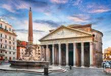 Obelisques Pantheon Rome