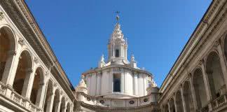 Clocher Sant'Ivo alla Sapienza