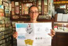 Delphine CRP gagnante Mai
