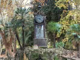 Horloge à eau Villa Borghese