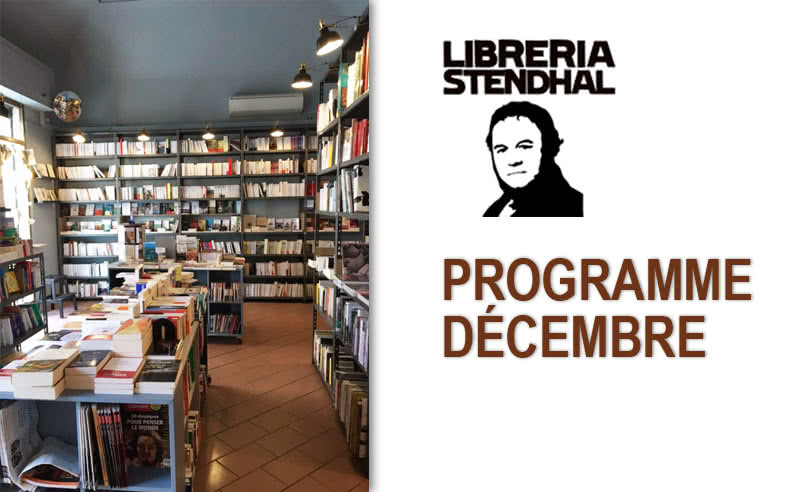 Programme décembre Libreria Stendhal