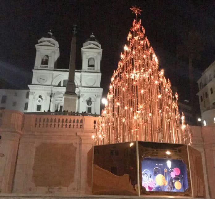 Sapin de Noël - Trinite des Monts