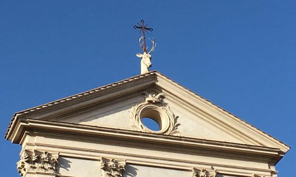 Tête de cerf Sant'Eustachio
