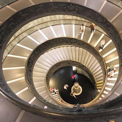 Escalier Musée du Vatican