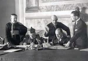 Signature accords du Latran