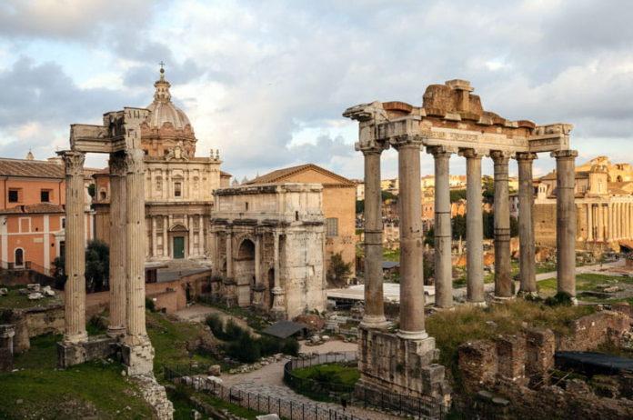 Le Forum Romain - Arc de Septime