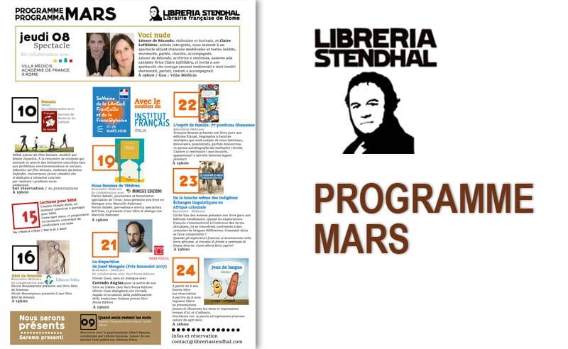 Libreria Stendhal Prog 03-18