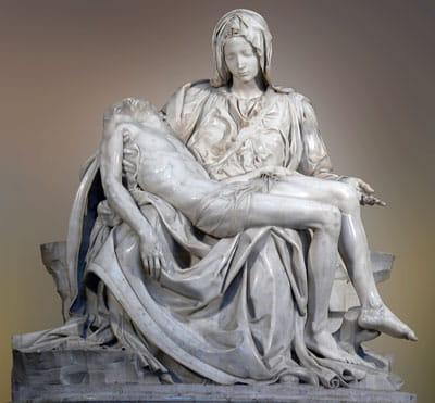 Pieta Michel Ange