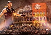 Gladiator concert Rome