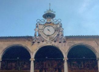 Horloge à la romaine
