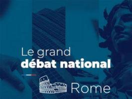 Grand debat national Rome
