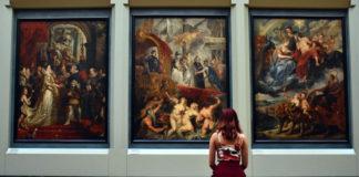 Visite musee tableaux